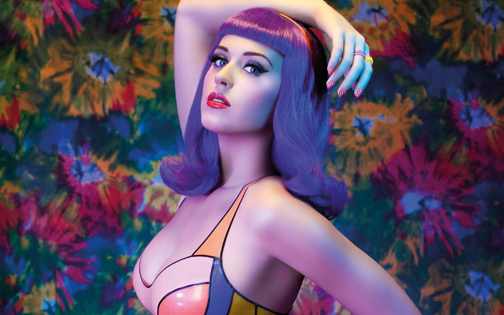 Katy perry hair color transformation! How to get purple hair