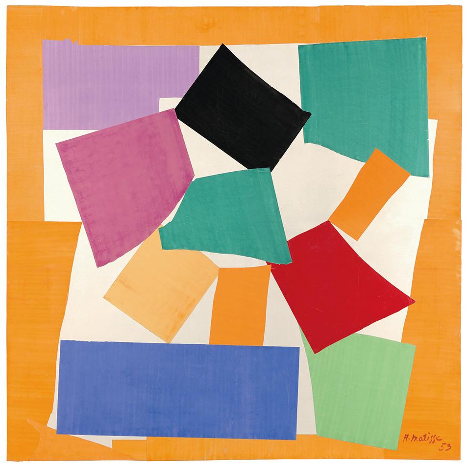 Henri Matisse - The Snail, 1953
