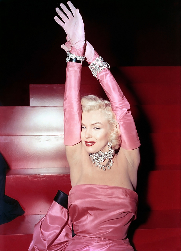 Marilyn Monroe, Diamonds are a girl's best friend