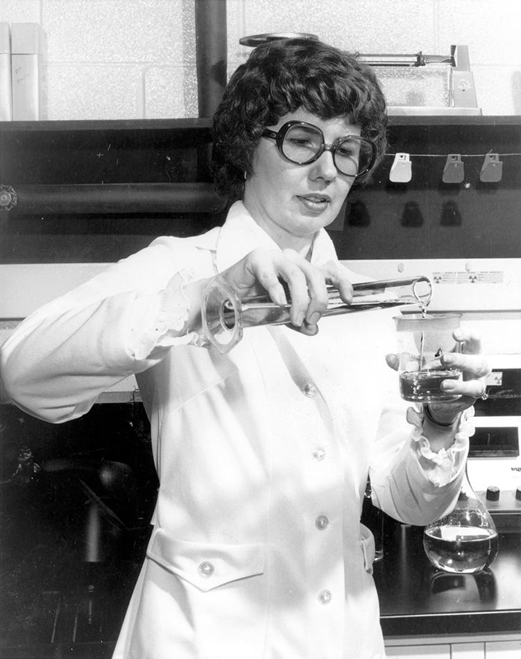 Barbara Askins, X-Ray teknolojisi