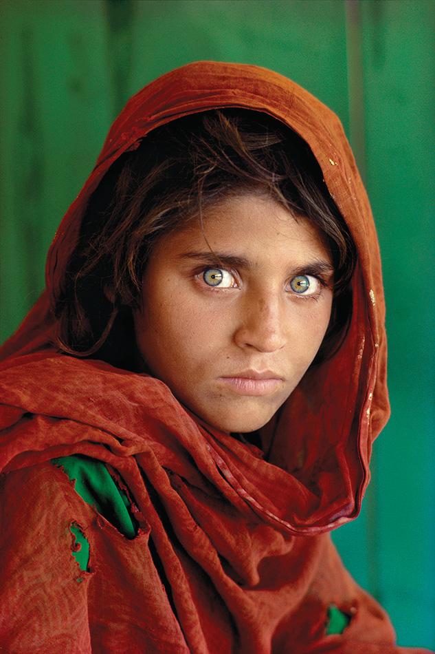 1984 - Steve McCurry-Afgan kızı