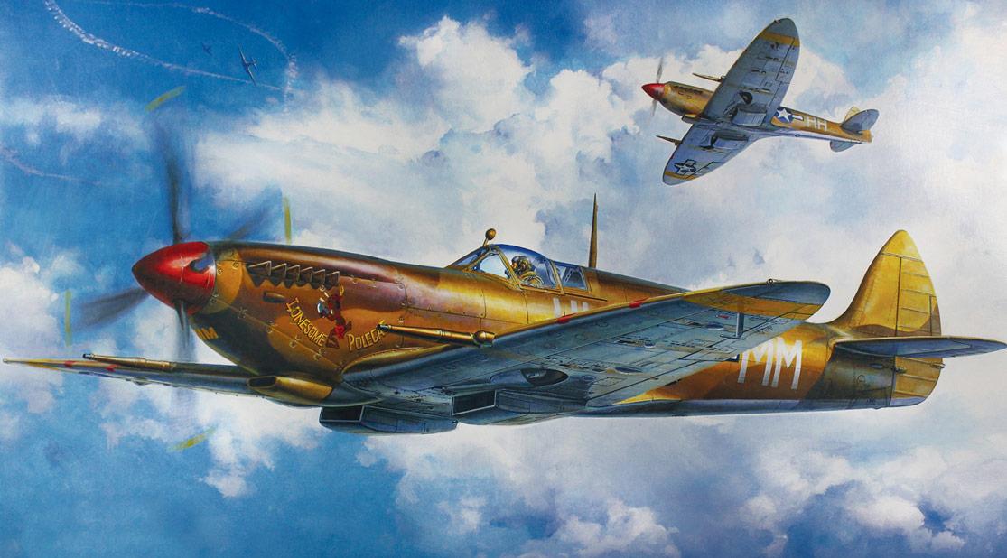 1/32 ölçekli Supermarine Spitfire Mk. VIII
