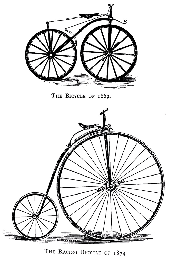 The bycle 1869