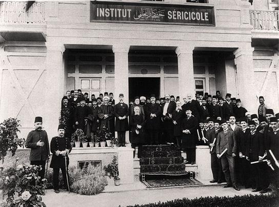 İpekçilik Enstitüsü , Sebah & Joaillier-1894