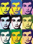 Andy Warhol- Audrey Hepburn popart
