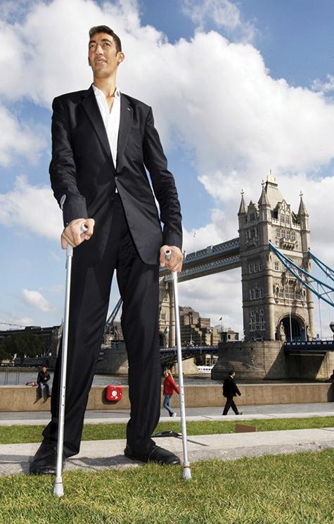 Dünyanın en uzun boylu adamı Sultan Kösen
