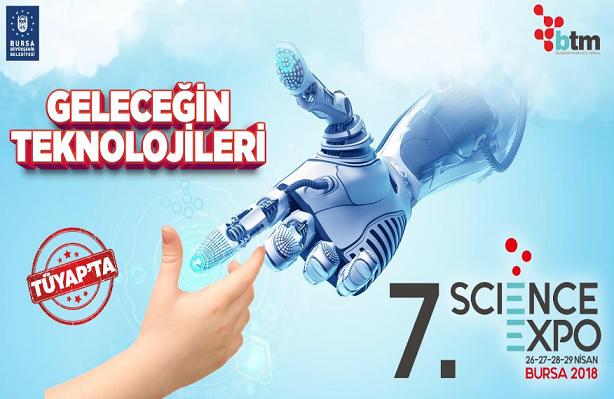 Bursa'da Science Expo heyecanı