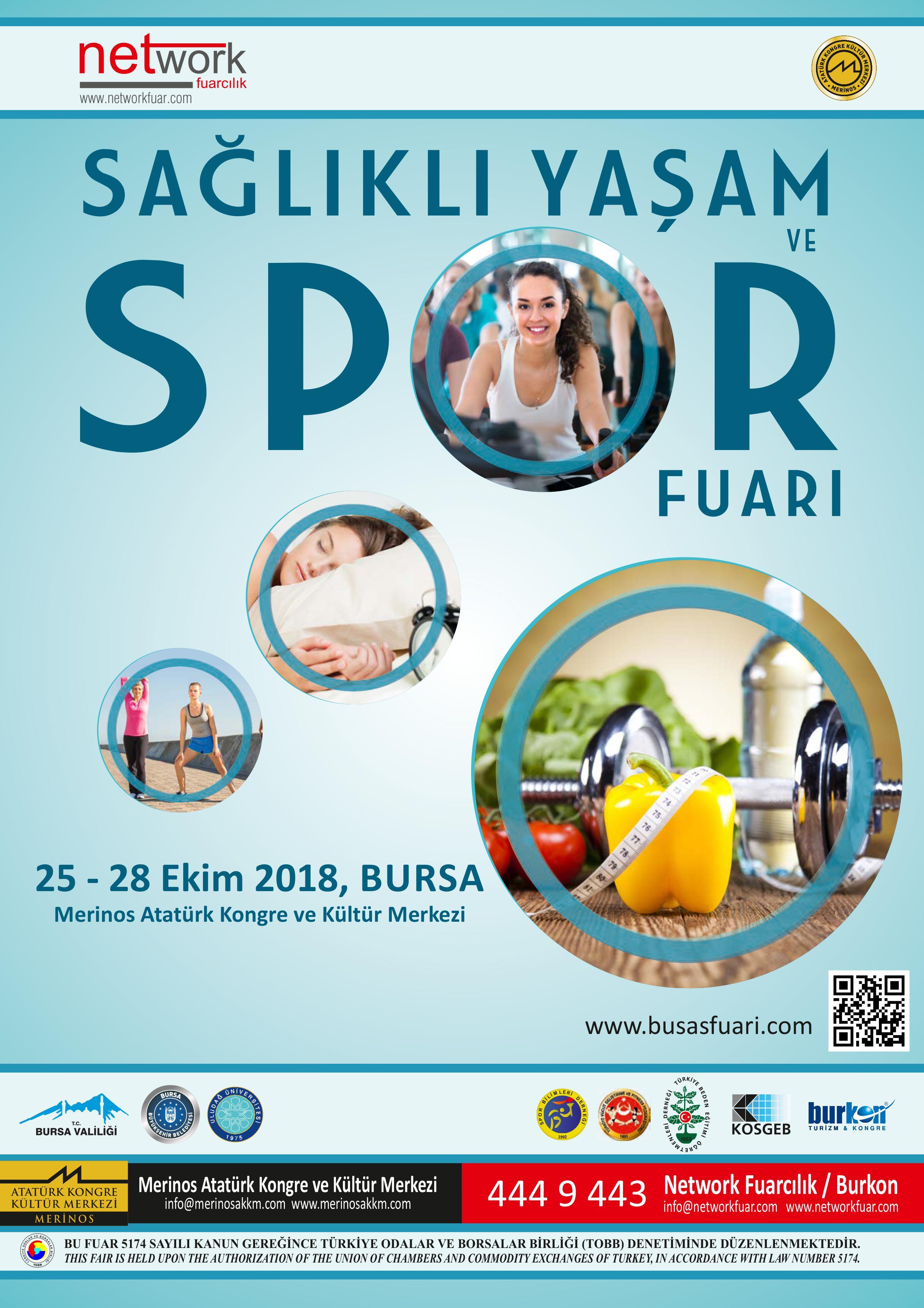 Sağlıklı Yaşam ve Spor Fuarı 2018