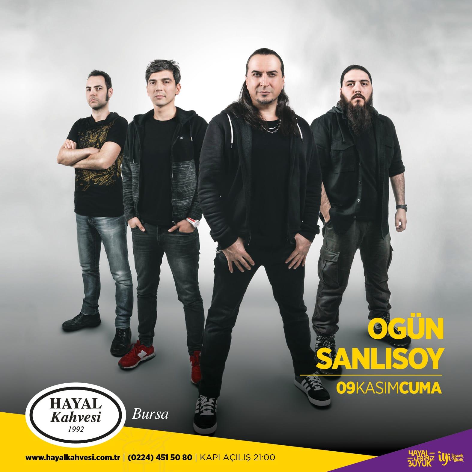 Ogün Şanlısoy Bursa konseri