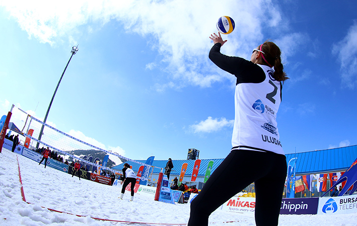 Snow Volleyball Uludağ