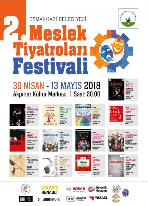 2. Meslek Tiyatroları Festivali