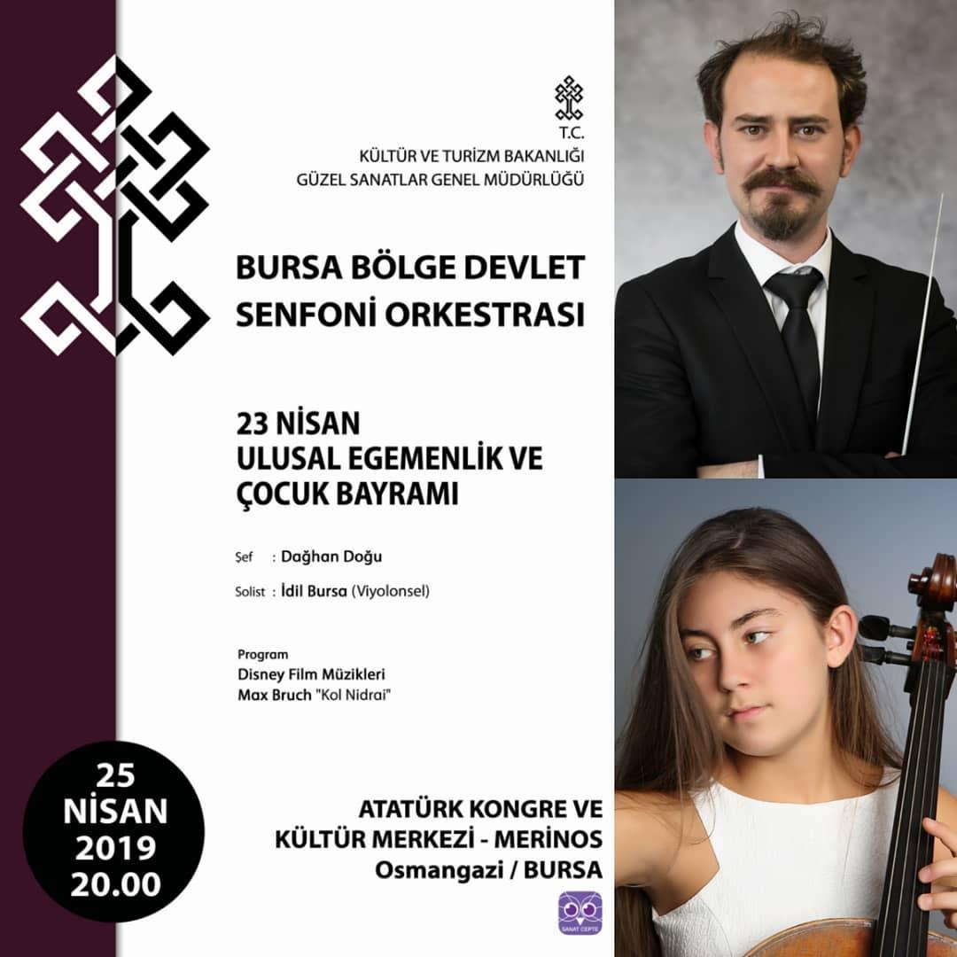 Bursa Senfoni Orkestrası Programı