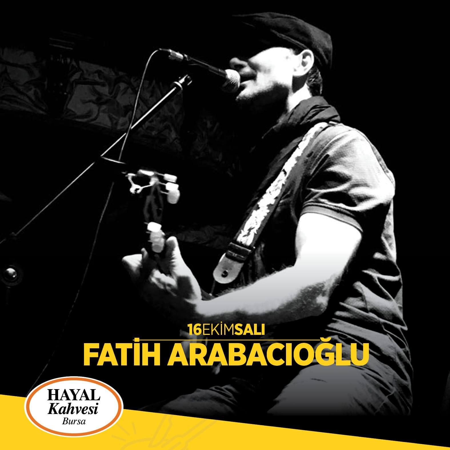 Fatih Arabacıoğlu Bursa konseri