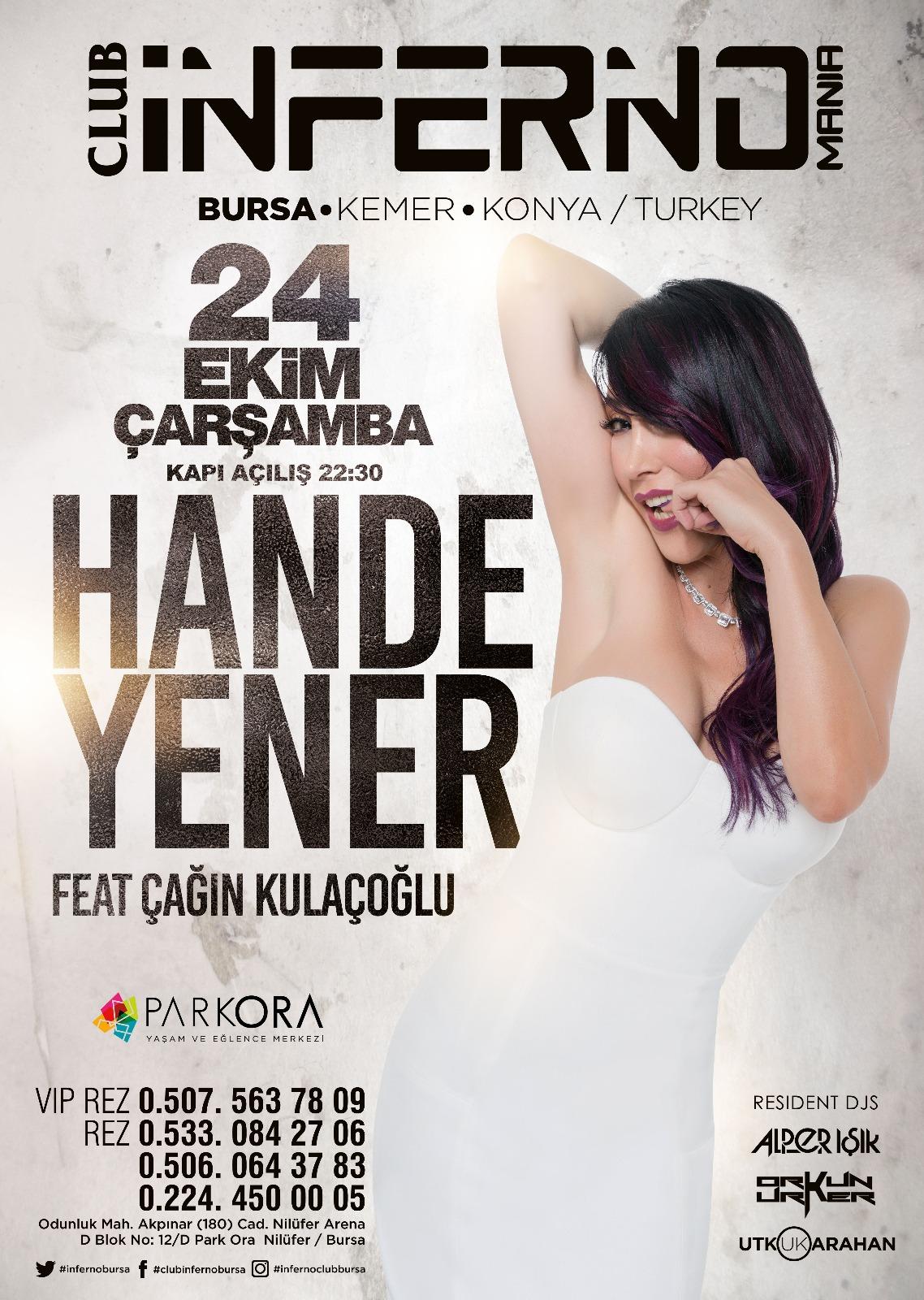 Hande Yener Bursa konseri