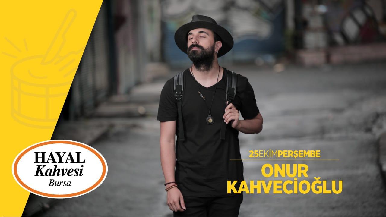 Onur Kahveci Bursa konseri