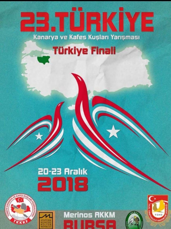 Türkiye Kanarya ve Kafes Kuşları Yarışması