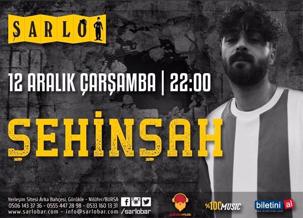 Şehinsah Bursa konseri