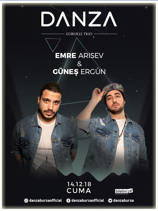 Emre Arısev & Güneş Ergün Bursa konseri