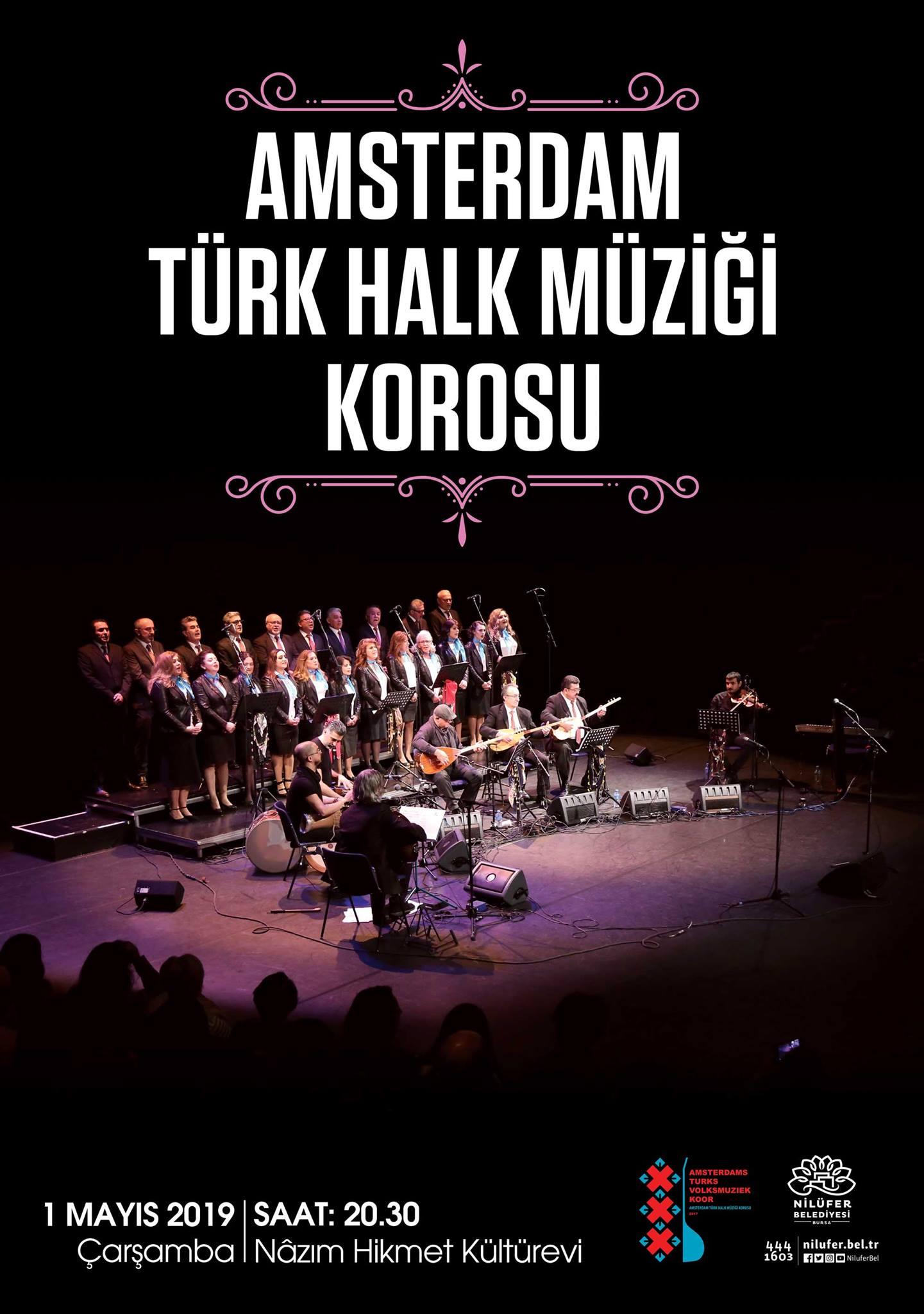 Amsterdam Türk Halk Müziği Korosu Bursa konseri