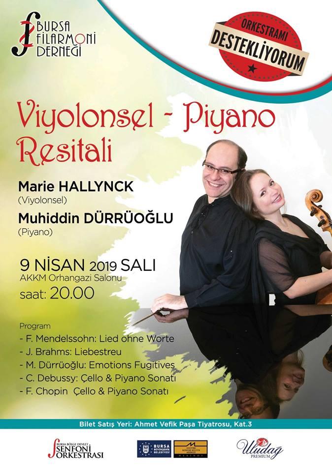 Viyolonsel & Piyano Resitali